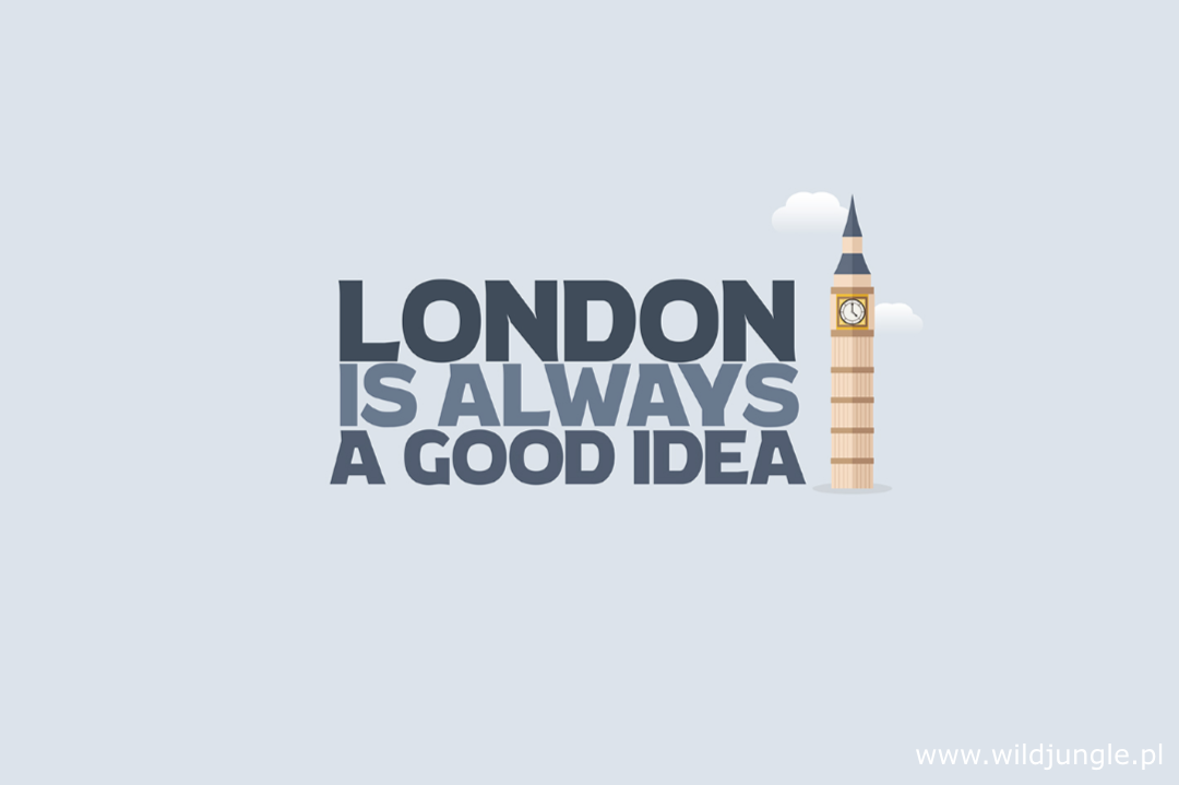 Tapeta London is always a good idea