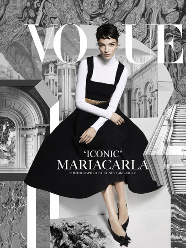 Collage cover Vogue