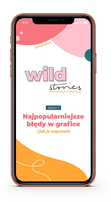 Wild stories - błędy w grafice
